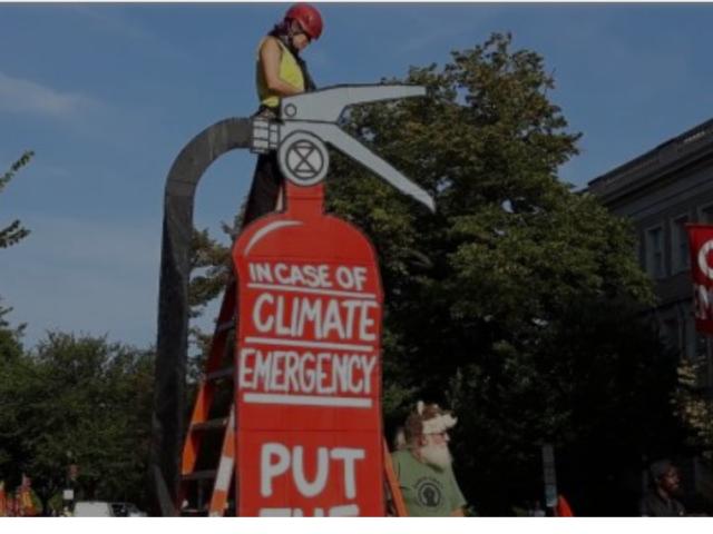 DC Climate Strike Shuts Down Washington, DC