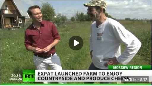 Expat farmer enjoys Russian countryside