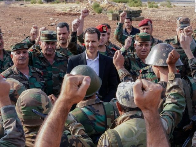 Assad visits frontline in Idlib, vows to retake all of Syrian land (PHOTOS)