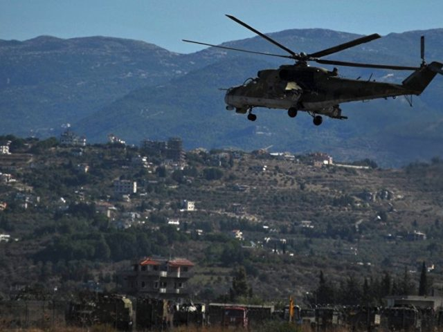 Russian Helicopters Land at Former US Military Base in Northern Syria
