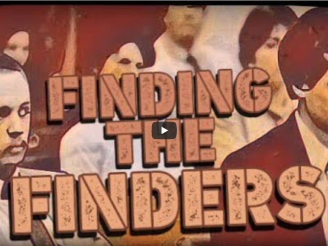 FINDING THE FINDERS