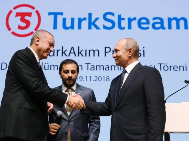 Erdogan announces Turkey-Russia gas pipeline TurkStream will be launched on January 8