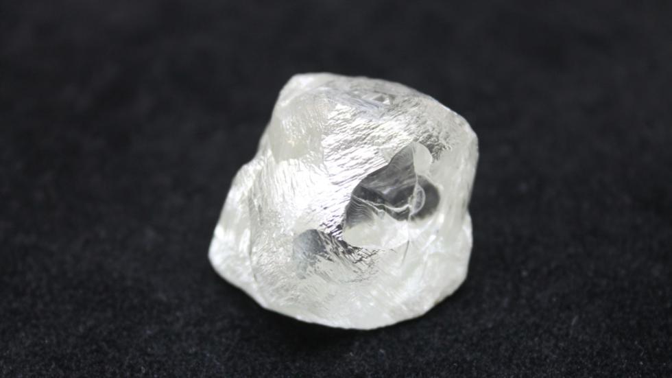 A huge 190.77-carat diamond