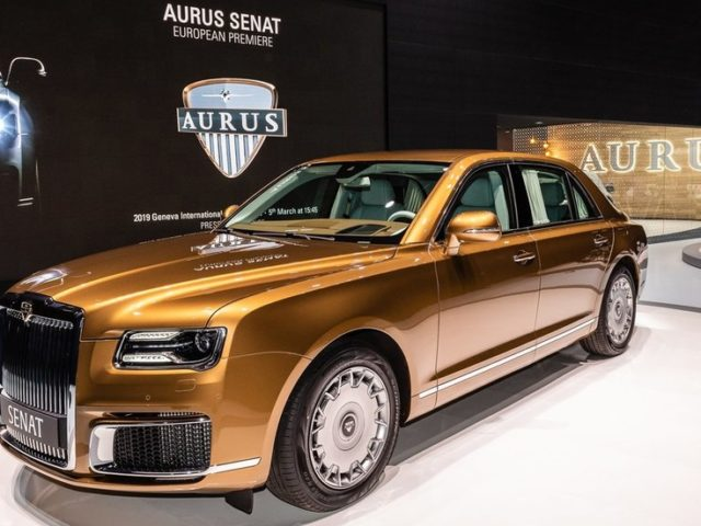 Russia to start mass production of Putin's limo brand Aurus in 2021 (VIDEO)