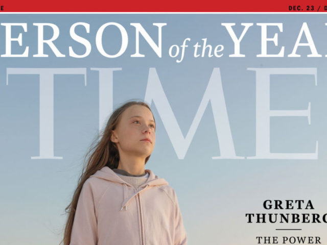 Trump Supporters' Group Edits Greta Thunberg's Image on TIME Cover