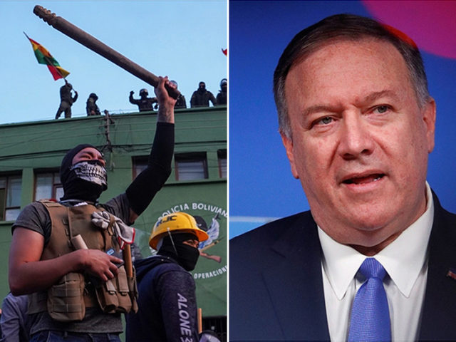 US to help 'legitimate Latin American govts' to PREVENT protests from 'morphing into riots' – Pompeo