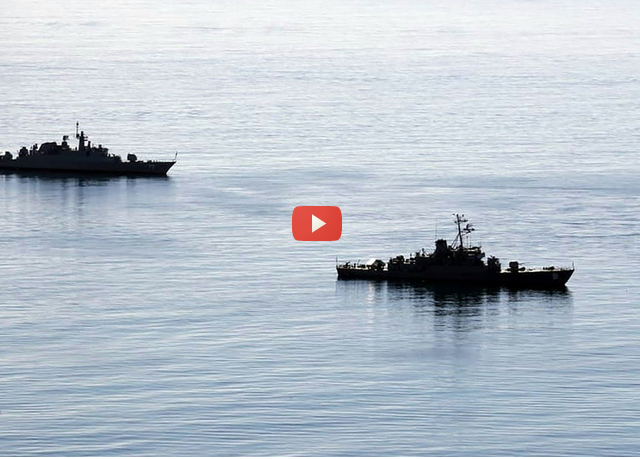 Russia-China-Iran hold FIRST EVER joint naval drills in Indian Ocean & Gulf of Oman (VIDEO)