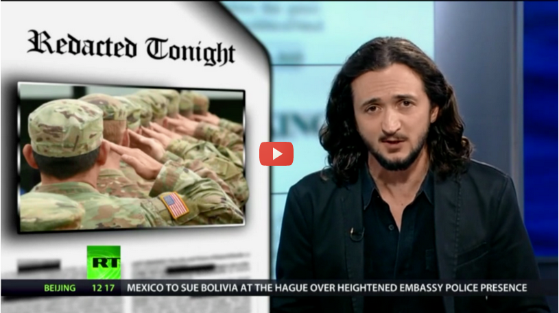 Redacted tonight Military complex