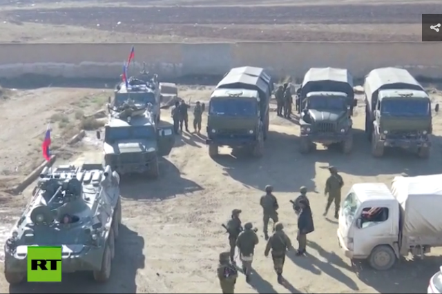 WATCH Russian military police secure yet another abandoned US outpost in Syria