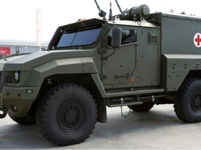 Russia deploys new armored vehicles to Syria