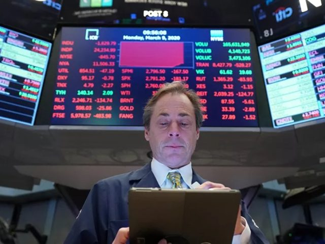 Stocks Plunge Over Double-Threat of Crashing Crude Prices and Coronavirus-Driven Recession Fears