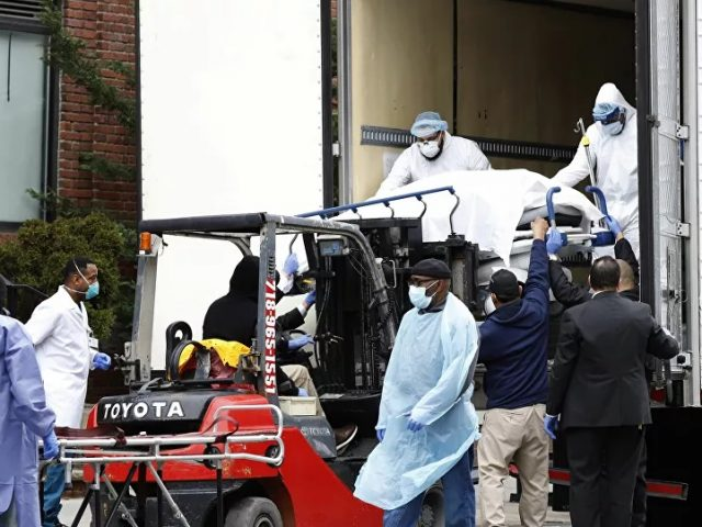 Videos: Bodies of NYC Coronavirus Victims Loaded via Forklift Into Refrigerated Trucks