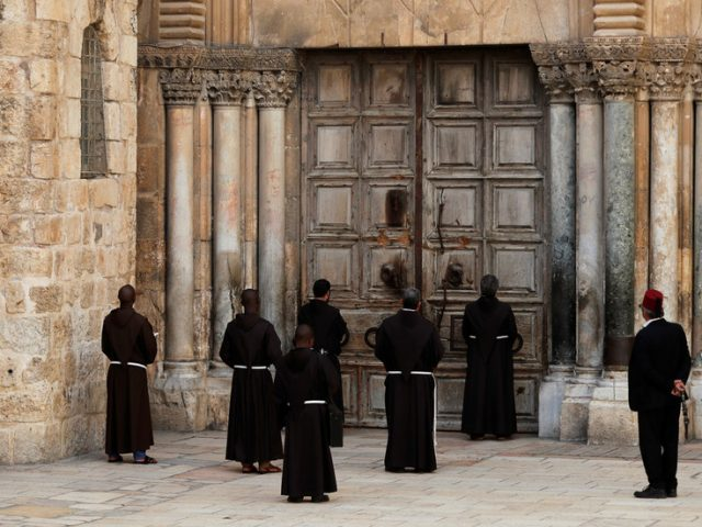 Jerusalem's Church of Holy Sepulchre closes for first time since BLACK DEATH