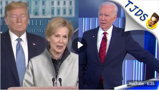 Trump & Biden Give Disinformation About Coronavirus