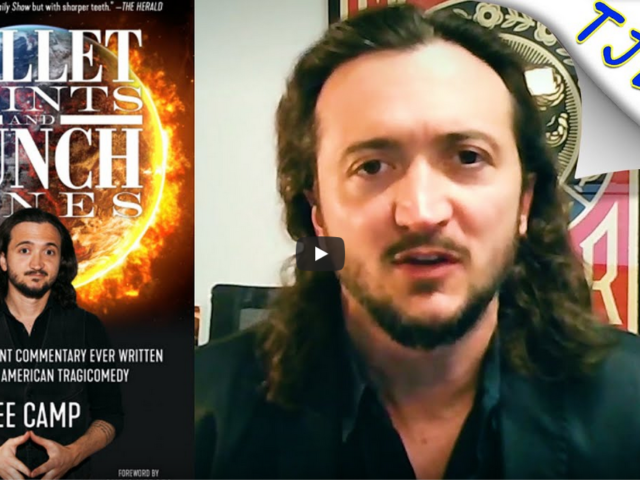 """Lee Camp Talks About """"Bullet Points & Punch Lines"""""""