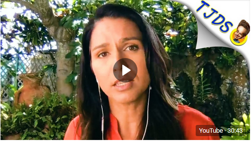 Tough Questions For Tulsi Over Biden Support