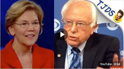 Liz Warren Lying About Bernie & Superdelegates