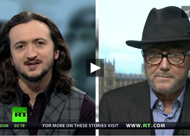 Julian Assange's extradition (w/George Galloway)
