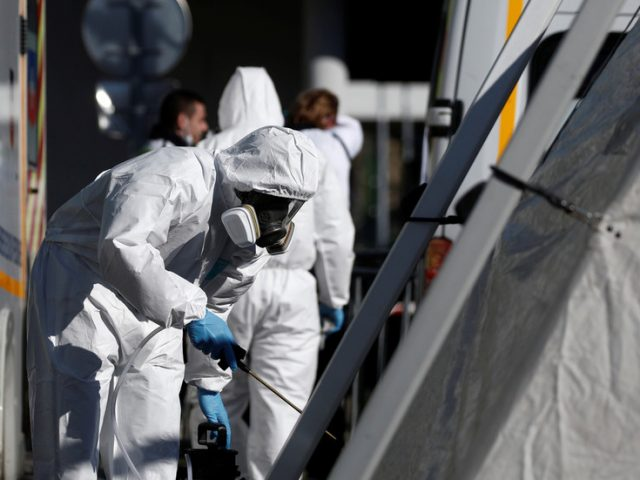 Coronavirus death toll surpasses 3,000 in France, with 418 deaths in one day