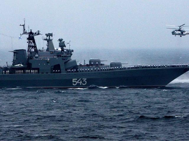 Russia's Marshal Shaposhnikov Destroyer to Receive Cutting-Edge Sea Stealth Armament – Report