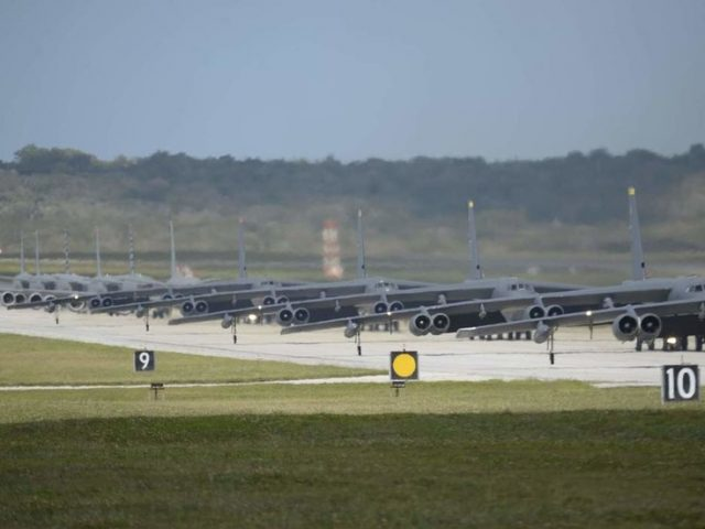US quietly recalls ALL B-52 bombers from Guam just DAYS after staging 'show of force'