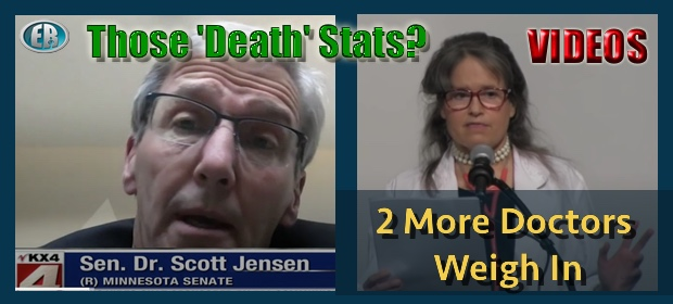 More Expert Feedback on Those Virus 'Death' Stats, Certificates [VIDEOS]