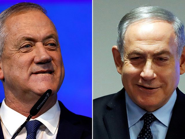 Israeli PM Netanyahu and rival Gantz agree to form 'unity' government to avoid another election