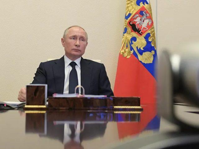 Russian President Vladimir Putin Addresses Nation on COVID-19 Situation – Video