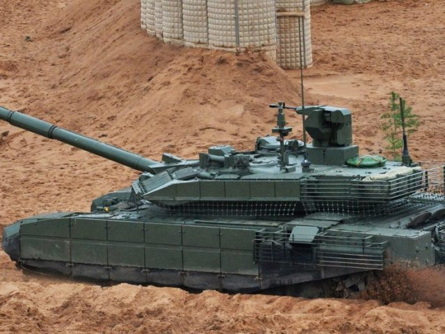 'Game-changing machine': Russian military get first batch of modernized T-90M tanks (VIDEO)