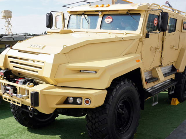 Russia begins testing new armored vehicles for special forces