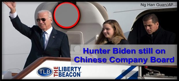 Hunter Biden Still Listed As Board Member Of Chinese Company