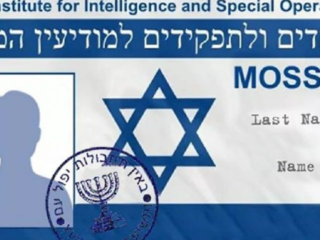 Israeli Media Reveals Shopping List of Supplies Procured by Mossad Amid Coronavirus Crunch