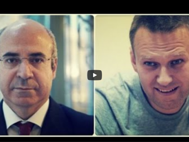 EXCLUSIVE: Russian TV: Bill Browder is CIA agent, recruited Navalny. Browder furious! Navalny sues!