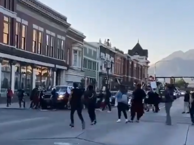 Black Lives Matter rioter shoots at driver in Utah, then CONTINUES to protest ( VIDEOS)