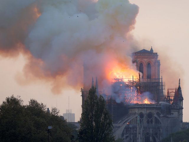 Up to SIX TIMES more lead released by Notre Dame blaze than previously estimated, study say