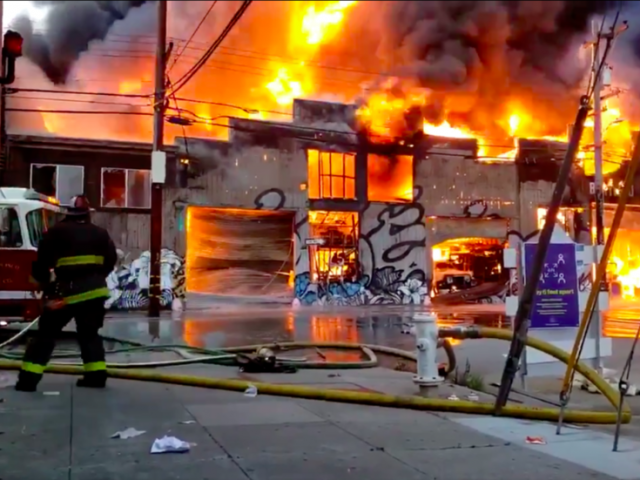 Over 150 firefighters called to massive 5-alarm blaze in San Francisco (PHOTOS, VIDEOS)