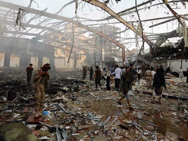 Ten Deaths Reported in Arab Coalition's Airstrike in Yemen's Northwest