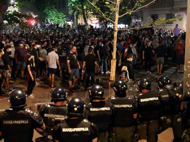Serbian defense minister says protests are 'COUP ATTEMPT', aim to spark CIVIL WAR