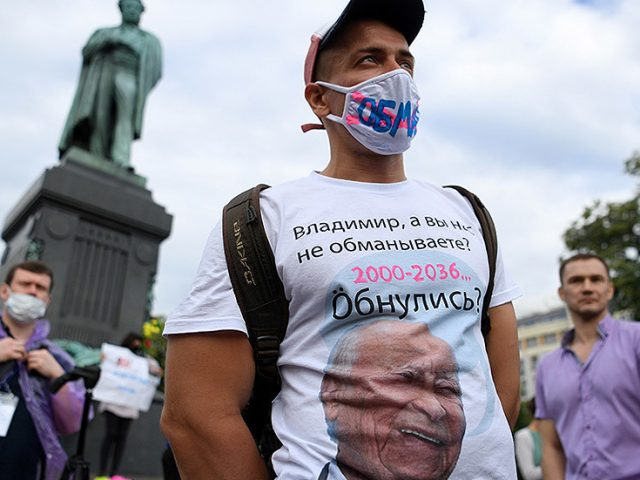 'Not a vote, not a referendum, but a show': Opposition cries foul as majority of Russians support Putin's constitution overhaul