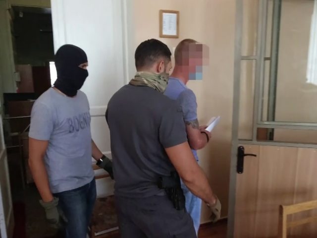 Russian serviceman working in Crimea arrested for HIGH TREASON, accused of spying for Ukraine