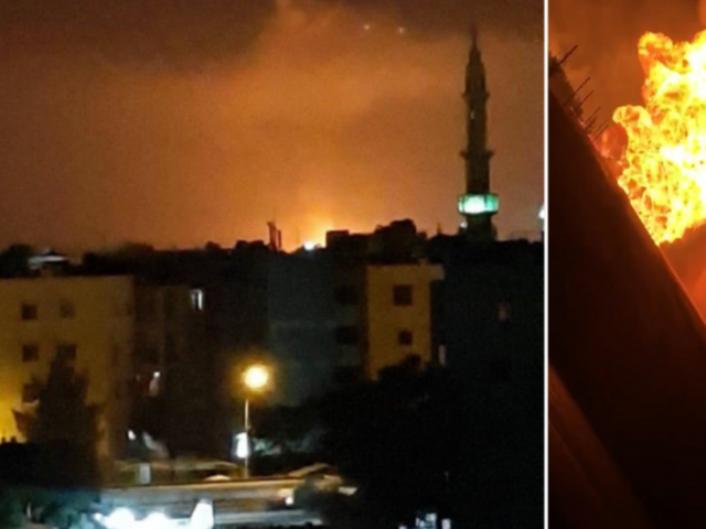 Gas pipeline explosion causes 'cascading blackout' across Syria in suspected 'terrorist attack'