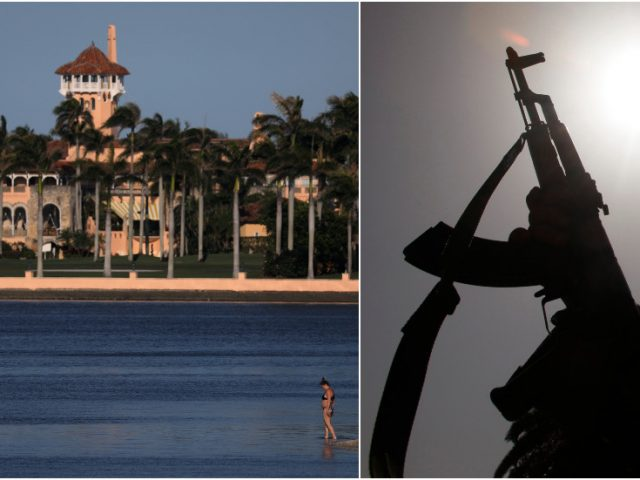 3 teens with LOADED AK-47 hop wall into Trump's Mar-a-Lago by 'mistake,' claim they 'found' the gun