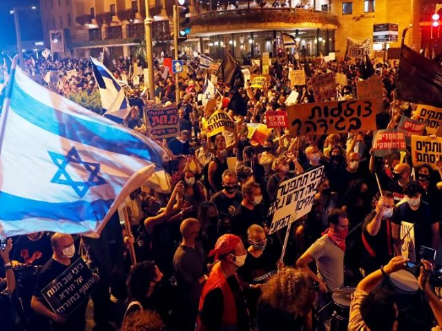 Police Say 5,000 People Rally Near Netanyahu Residence, Media Report About 15,000