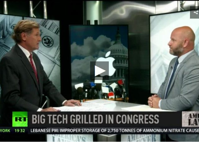 Hearing out big tech: congressional trust bust?