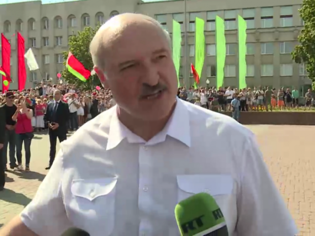 Belarus is being used as 'trampoline' to attack Russia, Lukashenko tells RT, amid post-election crisis