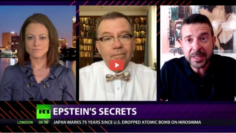Cross Talk Epstien's secrets