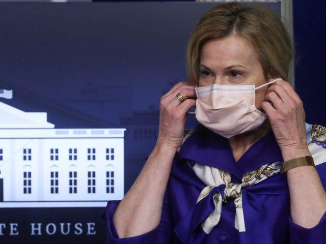 Americans should start wearing face masks AT HOME, Dr. Deborah Birx says