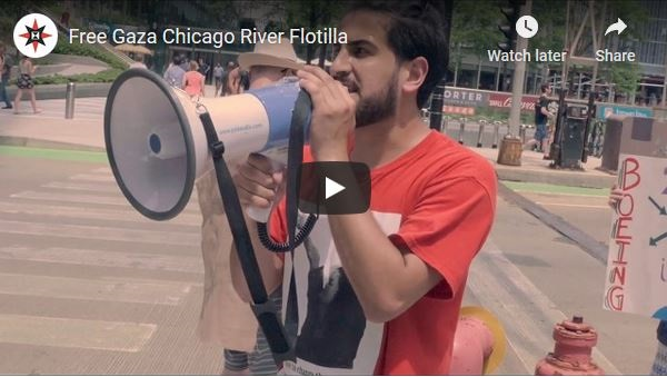 Free Gaza Chicago River Flotilla