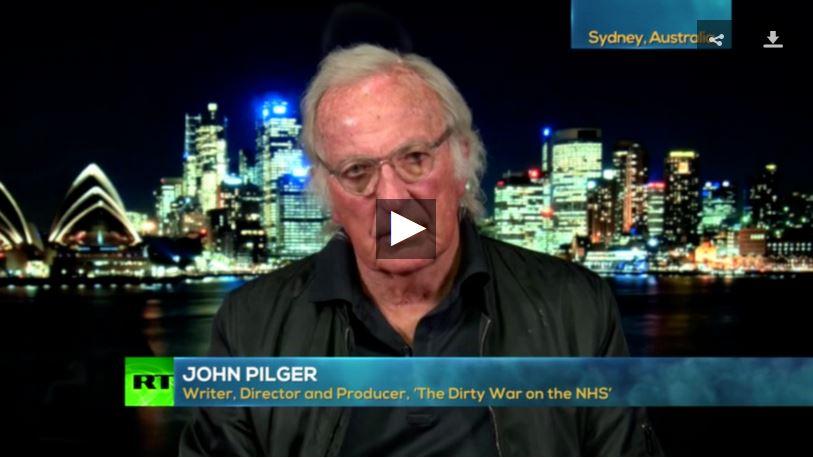 Going underground John Pilger