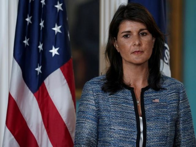 Nikki Haley hit with avalanche of Twitter mockery and vitriol for daring to complain about tardy popcorn deliveries